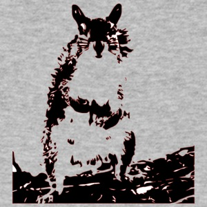 Squirrel - Men's V-Neck T-Shirt by Canvas
