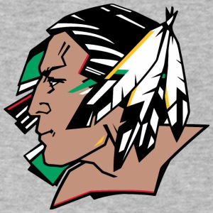 indians indian geronimo apache lakota - Men's V-Neck T-Shirt by Canvas