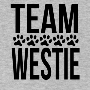 Team Westie - Men's V-Neck T-Shirt by Canvas
