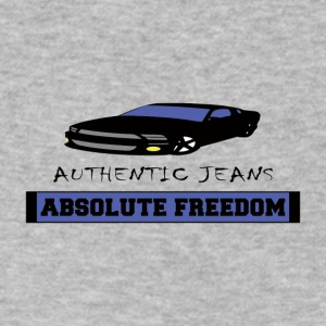 ABSOLUTE-FREEDOM - Men's V-Neck T-Shirt by Canvas