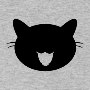 Black cat - Men's V-Neck T-Shirt by Canvas