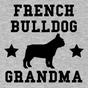 French Bulldog Grandma - Men's V-Neck T-Shirt by Canvas
