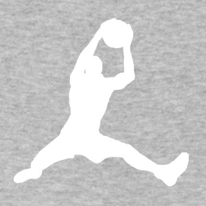 Basketball Rebound - Men's V-Neck T-Shirt by Canvas