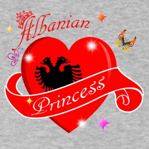 Albanian Princess designs - Men's V-Neck T-Shirt by Canvas
