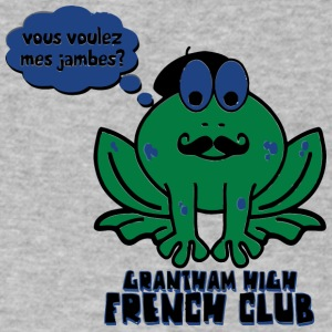 Vous Voulez Mes Jambes Grantham High French Club - Men's V-Neck T-Shirt by Canvas