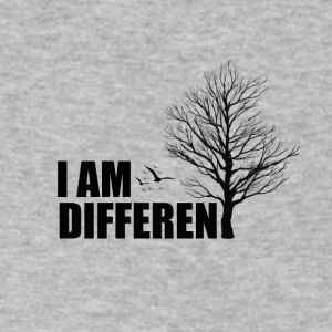I am Different - Men's V-Neck T-Shirt by Canvas
