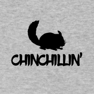 Chinchillin' - Men's V-Neck T-Shirt by Canvas