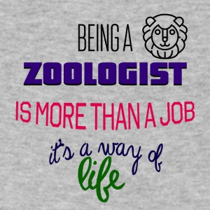 Being a zoologist - Men's V-Neck T-Shirt by Canvas