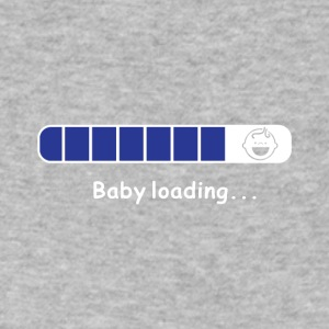 BABY LOADING PNG - Men's V-Neck T-Shirt by Canvas