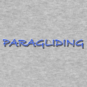 Paragliding1Climb Female and Male Climbing T-Shirt - Men's V-Neck T-Shirt by Canvas