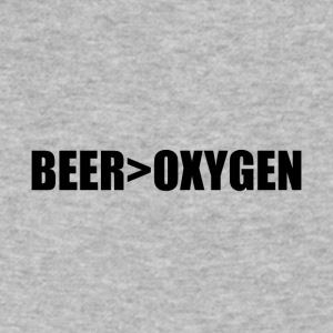 BEER>OXYGEN - Men's V-Neck T-Shirt by Canvas