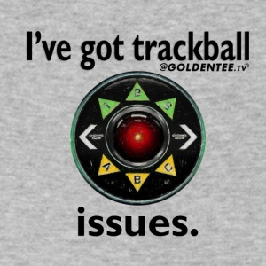 HAL9000 Trackball Issues - Men's V-Neck T-Shirt by Canvas