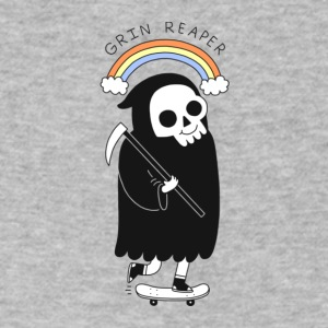 Grin Reaper - Men's V-Neck T-Shirt by Canvas