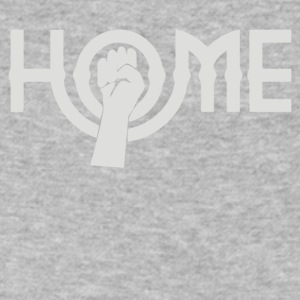 Home As Worn - Men's V-Neck T-Shirt by Canvas