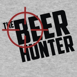 The Beer Hunter - Men's V-Neck T-Shirt by Canvas