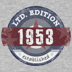 Limited Edition 1953 - Men's V-Neck T-Shirt by Canvas