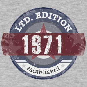 Limited Edition 1971 - Men's V-Neck T-Shirt by Canvas