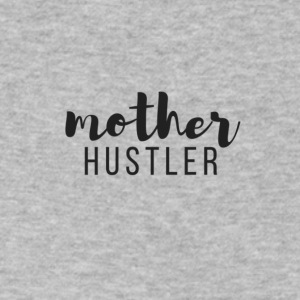 mother_hustler_BLACK - Men's V-Neck T-Shirt by Canvas