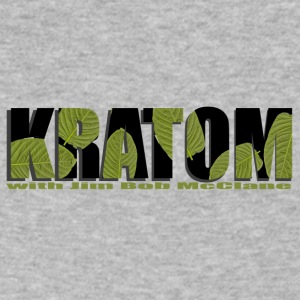 Kratom 1 - Men's V-Neck T-Shirt by Canvas
