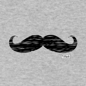 Mustache - Men's V-Neck T-Shirt by Canvas