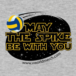 May The Spike Be With You - Men's V-Neck T-Shirt by Canvas