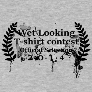 Wet Looking T Shirt Contest - Men's V-Neck T-Shirt by Canvas