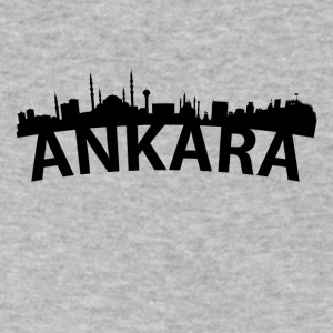 Arc Skyline Of Ankara Turkey - Men's V-Neck T-Shirt by Canvas