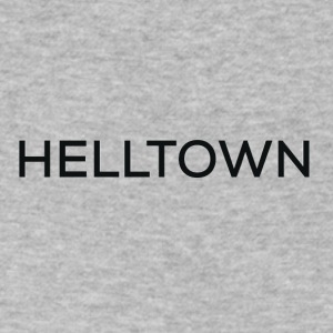 Helltown - Men's V-Neck T-Shirt by Canvas