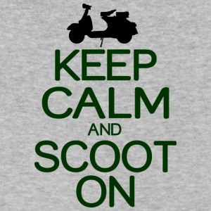 Keep calm and scoot on - Men's V-Neck T-Shirt by Canvas