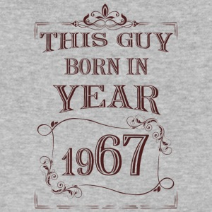 this guy born in year 1967 - Men's V-Neck T-Shirt by Canvas