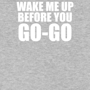 Wake Me Up Before You Go Go - Men's V-Neck T-Shirt by Canvas