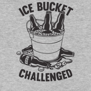 Ice Bucket Challenged - Men's V-Neck T-Shirt by Canvas