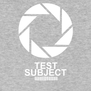 TEST SUBJECT - Men's V-Neck T-Shirt by Canvas