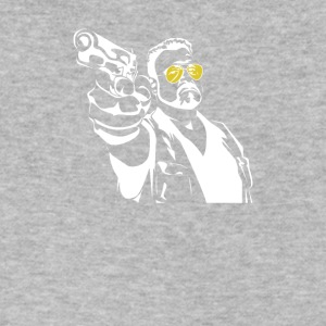 Walter Pointing Gun - Men's V-Neck T-Shirt by Canvas