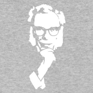 Isaac Asimov - Men's V-Neck T-Shirt by Canvas