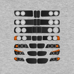 Evolution of BMW 5 series - Men's V-Neck T-Shirt by Canvas