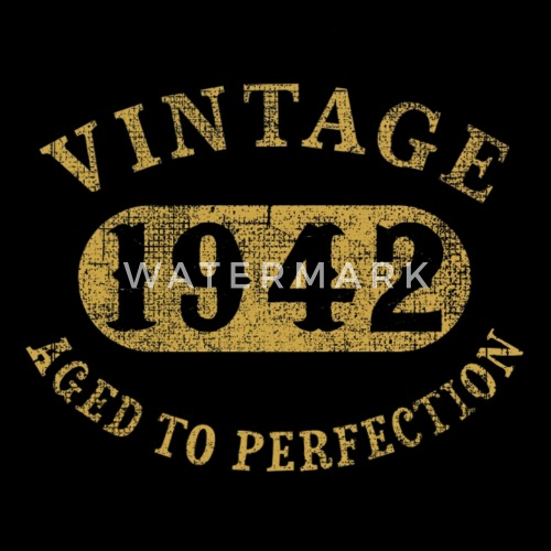 75 Years Old 75th Birthday Gift Vintage 1942 Aged By