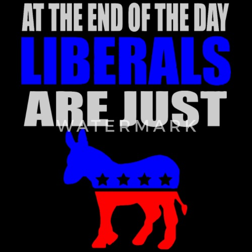 b6eb1d839 ... Republican - anti liberal democrat | pro republi - Men's V. Do you want  to edit the design?