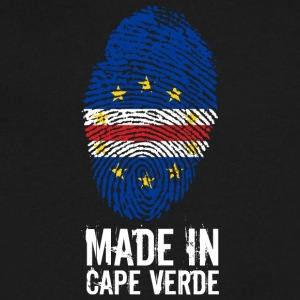 Made In Cape Verde / Cabo Verde - Men's V-Neck T-Shirt by Canvas