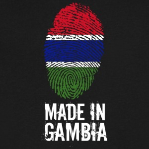Made In Gambia - Men's V-Neck T-Shirt by Canvas