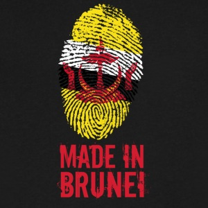 Made In Brunei / Negara Brunei Darussalam - Men's V-Neck T-Shirt by Canvas