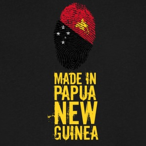 Made In Papua New Guinea - Men's V-Neck T-Shirt by Canvas