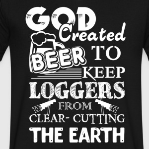Loggers Shirt - Men's V-Neck T-Shirt by Canvas