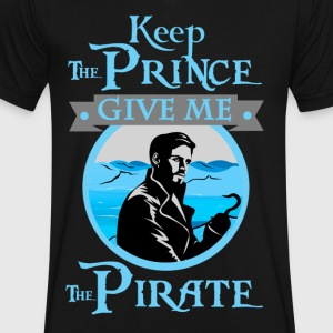 Give Me The Pirate - Men's V-Neck T-Shirt by Canvas