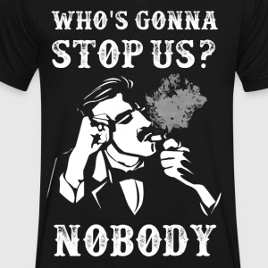 Peaky Blinders Quotes. Who's gonna stop us? - Men's V-Neck T-Shirt by Canvas