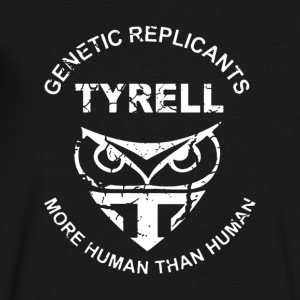 Genetic Replicants Tyr - Men's V-Neck T-Shirt by Canvas