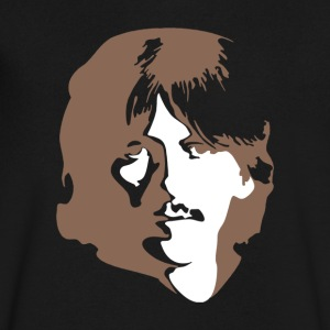 George Harrison - Men's V-Neck T-Shirt by Canvas