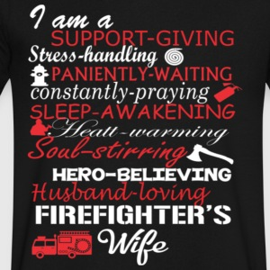 Firefighter s - Men's V-Neck T-Shirt by Canvas