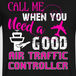 Good Air Traffic Controller Shirt - Men's V-Neck T-Shirt by Canvas