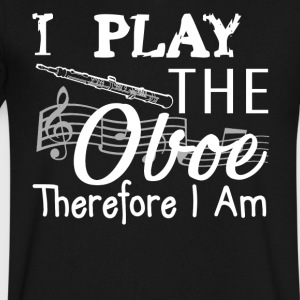 Play The Oboe Shirt - Men's V-Neck T-Shirt by Canvas